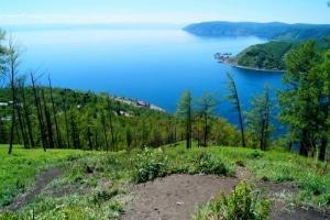 Baikalmeer uitzicht