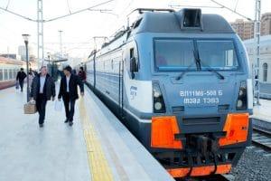 Treinreis Bakoe Azerbeidzjan