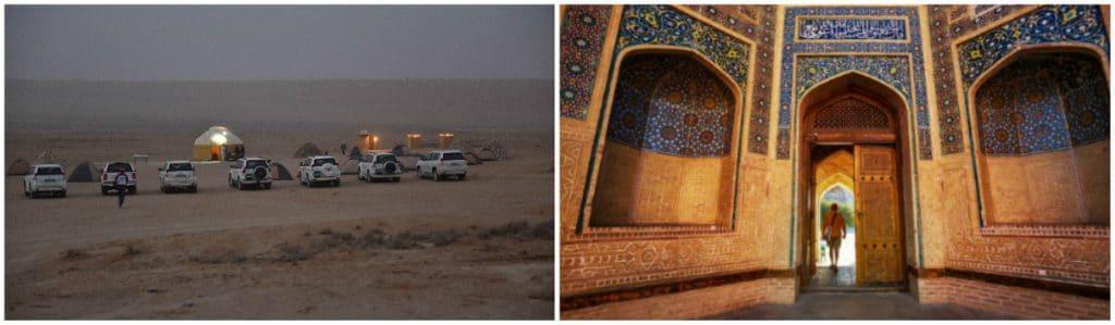 Darwaza en Khiva Zijderoute