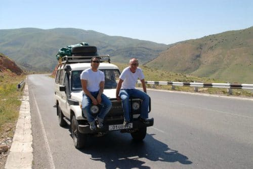 Fly drive Armenië