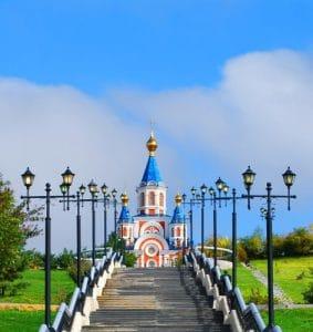 Kathedraal van onze lieve vrouw van Komsomolsk aan de Amoer - Mevo Reizen
