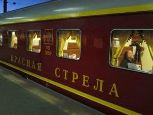Krasnaya Streda - nachttrein Moskou - St Petersburg