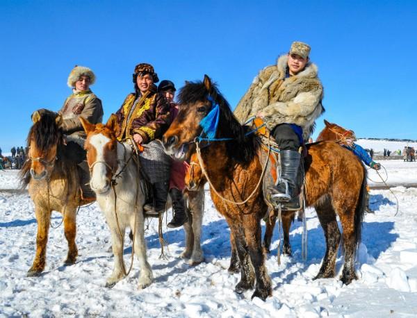 Mongolië Paardrijtochten