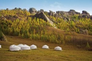 Mongolie-Yurt-Mevo-Reizen