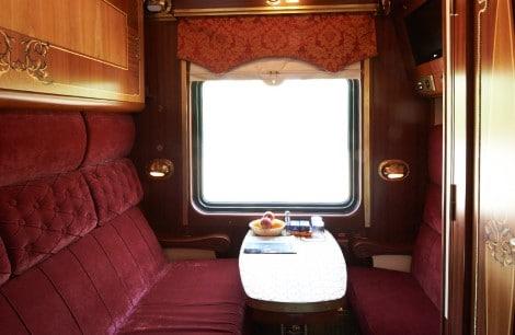 Tsarengoud Cabine - luxe Transsiberie Express treinreis
