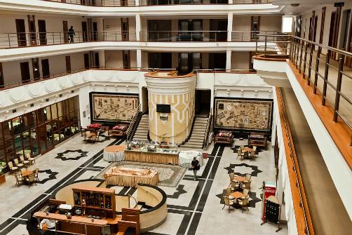 Zwembad Asia Bukhara Hotel