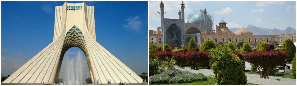 Teheran en Isfahan Zijderoute