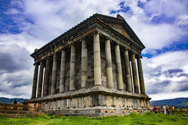 Tempel van de zon Armenië