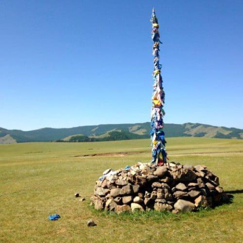 Terelj National Park Mongolië