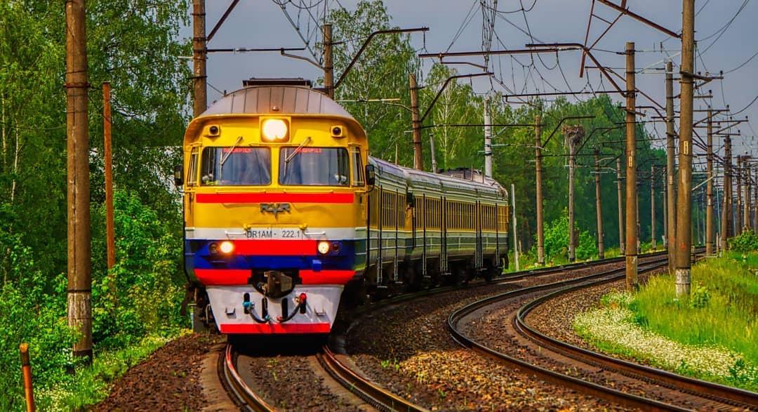 Rail Baltica Trein