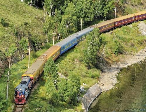 Tsarengoud Express naar Beijing