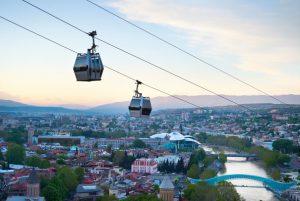 Uitzicht Tbilisi - Georgie - Mevo Reizen