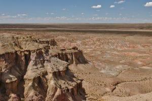 Uitzicht steppe Mongolië