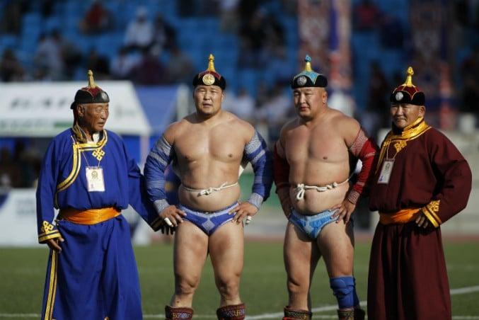 Naadam Festival worstelen