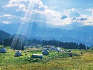 Mongolië landschap