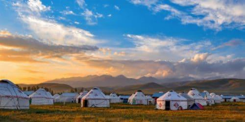 Yurt Mongolië