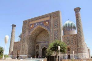 Zijderoute - Registan plein Oezbekistan
