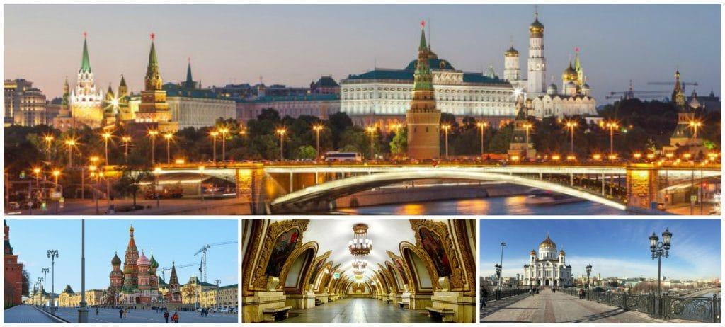 Bezienswaardigheden Moskou