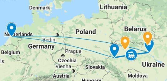 Dubbele stedenreis Kiev en Lviv