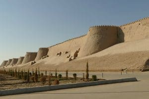 Historisch centrum Khiva - Zijderoute - Mevo Reizen