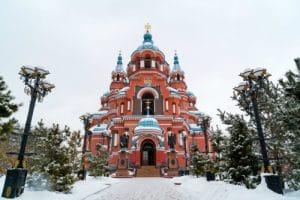 Kazan kerk - Irkutsk - Mevo Reizen