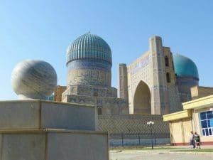 Samarkand Moskee - Registan Express - Mevo Reizen