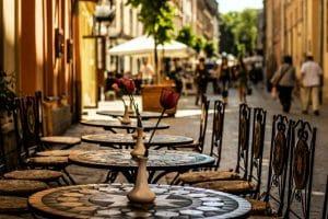 Straatje in Lviv - Mevo Reizen