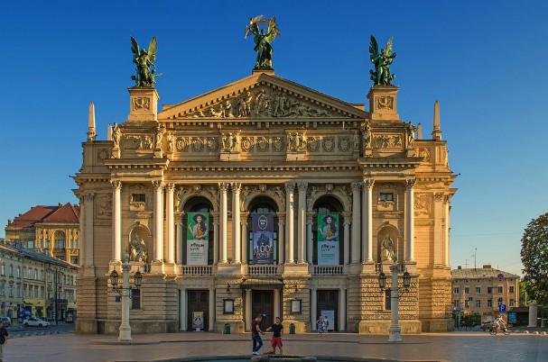 Opera theater Lviv