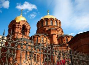 Alexander Nevsky cathedral, Novosibirsk, Russia