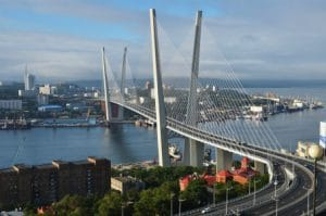 Brug Vladivostok - Rusland - Mevo Reizen