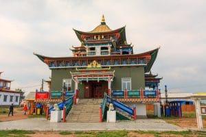 Buddhist temple - Uland Ude - Mevo Reizen