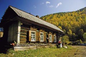 Siberisch huisje - Rusland - Mevo Reizen