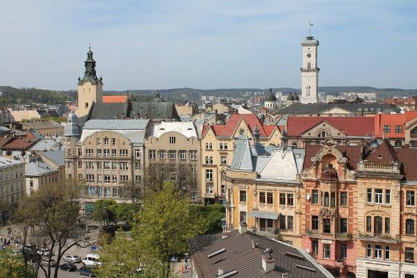 Uitzicht Lviv Oekraïne