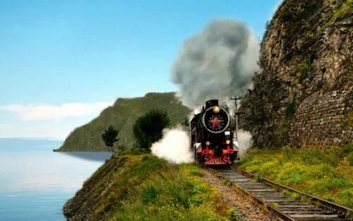 Trein Baikalmeer