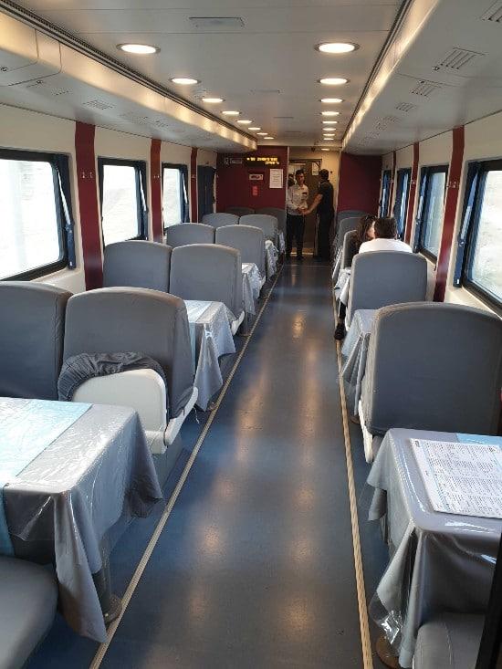Trein van Tasjkent naar Almaty