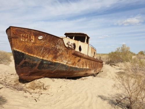 Aralmeer Zijderoute