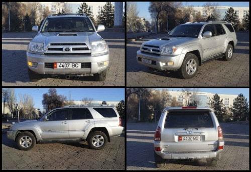 4x4 Terreinwagen Kirgizië