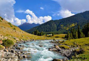 Landschap Kirgizië - Mevo Reizen
