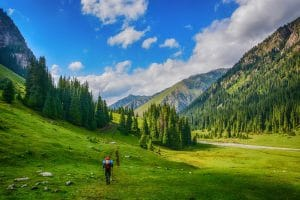 Tianshan gebergte Kazachstan - Mevo Reizen