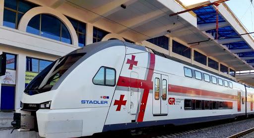 Yerevan-Tbilisi-Batumi train